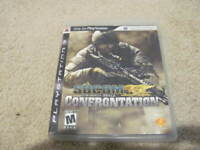SOCOM Confrontation US Navy Seals Game PlayStation 3 PS3 - Complete & Tested