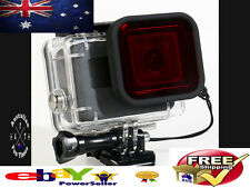 Underwater Undersea Diving Red Lens Filter For Gopro Hero 5 & 6 Waterproof Case