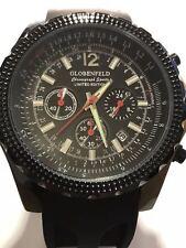 Globenfeld Gents Black Limited Edition Chronograph Sports Watch Presentation Box
