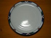 "Noritake Stoneware KACHINA 8458 Dinner Plate 10 1/4""  Black  1 ea  9 available"