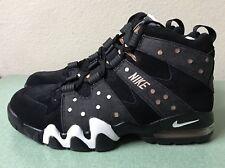 Nike Air Max2 CB 94 Black White Metallic Bronze Mens Sz 8 Charles Barkley NEW!!!