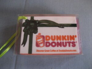 Dunkin' Donuts Christmas Ornament Donut Box New
