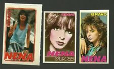 NENA 99 Red Balloons 1980s Movie Pop Rock Music TV Mini Stickers From Germany A