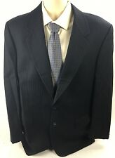 Valentino Uomo Jacket 42L 42 Long Charcoal Italian 100% wool Sport Coat Blazer