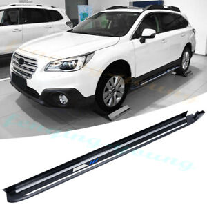 fits for Subaru outback 2015-2019 side step Running board nerf bar 2pcs