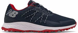 New Balance Fresh Foam Pace SL Golf Shoes NBG4005NR Navy/Red 2021 Men's New