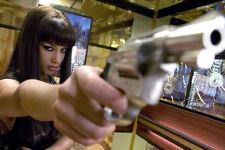 Alicia Keys Smokin Aces With Gun 11x17 Mini Poster