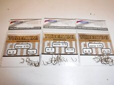 Tubertini Hooks, 175 sz2/3/4   packet each pellet hooks