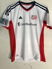 e655d808355 Adidas Youth MLS Jersey New England Revolution White sz M