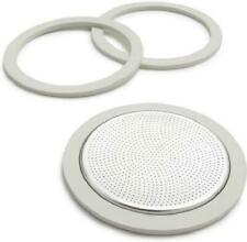 New listing Bialetti Gaskets and Filter For 9 Cup Stovetop Espresso Coffee Makers