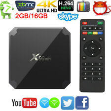 X96 Mini Android Smart TV BOX  7.1 WIFI Quad Core Media Player 2+16GB HDMI 4K