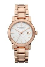 Burberry BU9104 Heritage Stainless Steel Rose Gold-Plated 34mm Women's Watch
