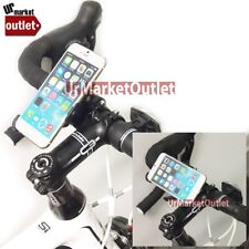 Heavy Duty Bicycle Motor Mount Clip Phone Holder Fit Apple iPhone 6 Plus IP6 5.5