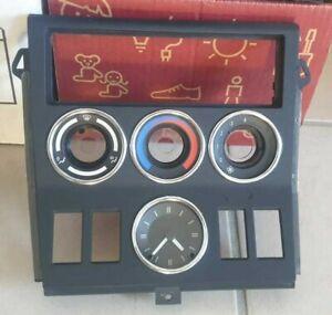 BMW Genuine OEM Z3 Facelift Console Control Panel (Black)