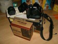 Nikon D3100 14.2MP Digitalkamera - Schwarz Kit mit AF- DX VR 18-55mm