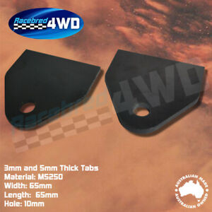 Laser Cut Weld In 3mm and 5mm Thick Tabs