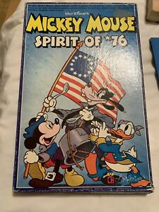 🏰Vintage Mickey Mouse Spirit of '76 Colorforms Goofy Mickey Donald