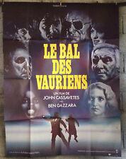 cinema-Affiche originale- LE BAL DES VAURIENS -CASSAVETES-120x160