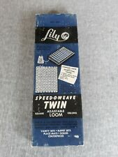 New listing Vintage Speed O Weave Adjustable Twin Loom By Lily Square Oblong