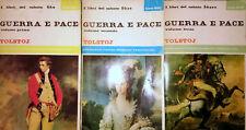 LEONE TOLSTOJ GUERRA E PACE GHERARDO CASINI 1968