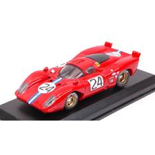 Ferrari 312 P Coupe' N.24 4th 24h Daytona 1970 Posey-parkes 1 43 Best Model