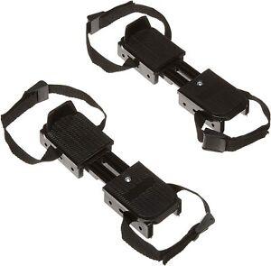 American Athletic Shoe Adjustable Double Runner Ice Skates Black 6Y-9Y Youth