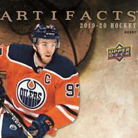 2019-20 Artifacts AQUA (19-20 UD Upper Deck) NHL Hockey Cards Pick From List