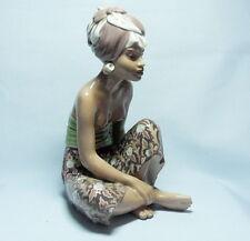 Jugendstil  Porzellan Figure   Bali Mädchen  Dahl Jensen  Art Nouveau  figure