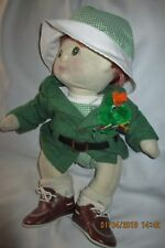My Child Doll Red Hair Green Eyes St. Patrick's Outfit Mattel 1985