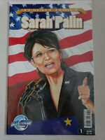 FEMALE FORCE: SARAH PALIN #1 SPECIAL BLUE WATER COMICS 2009 1ST PRINT! NM