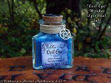 EVIL EYE Witches Spiritual Salt Hand-Colored For Warding Against Evil Eye, Magic