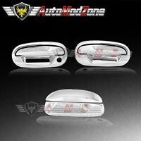 97-03 Ford F-150 Chrome 2 Door Handle Covers w/o PSG Keyhole+ Tailgate Cover