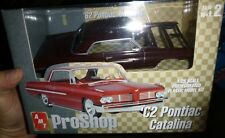 AMT 31279 1962 PONTIAC CATALINA 421SD PRO SHOP Model Car Mountain 1/25 FS MAROON