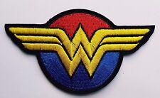 Wonder Woman Logo Red Blue and Yellow Wonder Woman Movie logo Iron On Patch