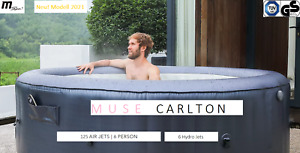 MSpa Muse Whirlpool Carlton aufblasbar 6 Personen -M-CA061 Indoor- Outdoor- Pool