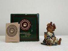 Boyds Bearstone Collection QUITE TIME-MOMMA MCBEAR/CALE