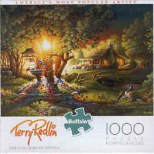 Terry Redlin Buffalo Games Jigsaw Puzzle Colours of Spring