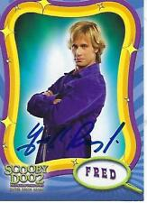 """FREDDIE PRINZE JR. SIGNED 2004 INKWORKS """"SCOOPBY DOO"""" 2 #2 - FRED"""