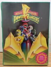 1994 Mighty Morphin Power Rangers Carrying Case w/ 10 Figures And Accessories