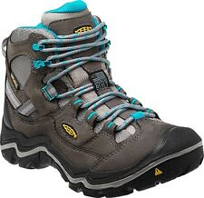 New Keen Womens Detroit Mid Steel Toe Support Waterproof Hiking Boots Sz 7.5 W