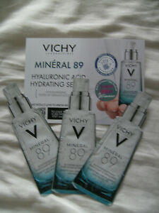 Vichy Serum Mineral 89 Plumping Daily Booster 3 X 1.5 ml sample sachets