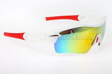 Rockbros White Red Polarized Cycling Glasses ,Sports Glasses Sunglasses Goggles