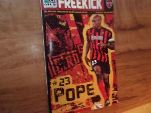 Rare Football Program Eddie Pope MetroStars Soccer Magazine MLS NY Redbull