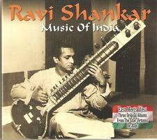 RAVI SHANKAR MUSIC OF INDIA - 3 CD BOX SET - THREE ORIGINAL ALBUMS