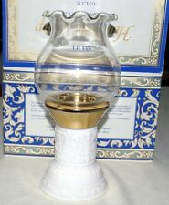 VINTAGE 1973 AVON Hurricane Lamp Field Flowers Cologne-NEW IN BOX-FREE SHIPPING