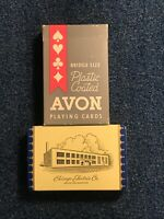 Avon Bridge Size Playing Cards- Chicago Electric Co.