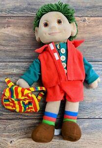 Vintage 1993 Bendysoft Tots TV Tiny 16 Inch Tall Doll Ragdoll Productions