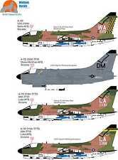 Wolfpak stickers désert 32-001 slufs Vought A-7 Corsair II-par Fantasy PrintShop