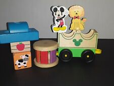 Wooden Toy Lot Free Shipping