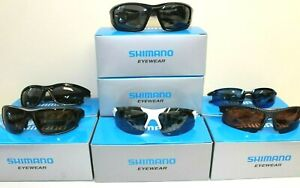 SHIMANO FISHING/CYCLING SPORTS POLARISED SUNGLASSES RANGE - *BRAND NEW*